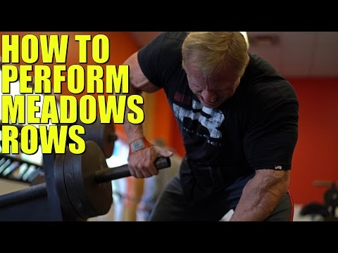How to Perform Meadows Rows | Tiger Fitness