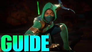 Jade (Royal Guard) Mortal Kombat 11 GUIDE! [Jade Pole Vault, Pole Vault Cancel, Mix-Ups, Tips MK11]
