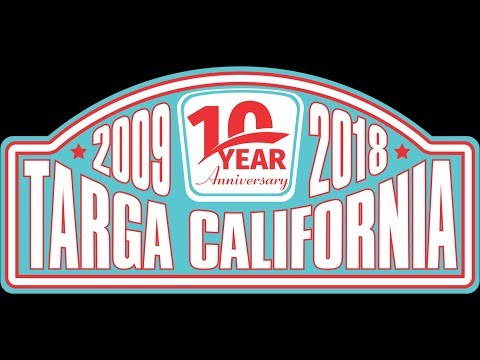 Targa California 2018