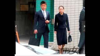魔裟斗&矢沢心地味なスーツ姿で有名幼稚園の説明会に参加