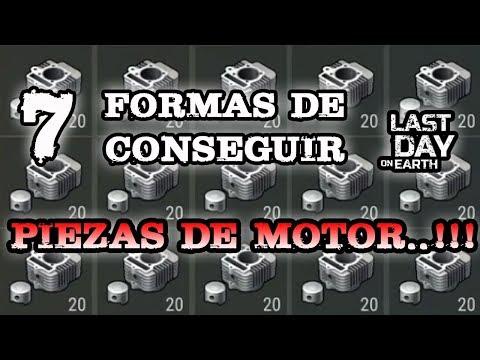DONDE CONSEGUIR PIEZAS DE MOTOR..!!! | LAST DAY ON EARTH: SURVIVAL | Nashu