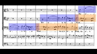 Dizzyingly Complex Counterpoint in Bach's BWV 80 Cantata,