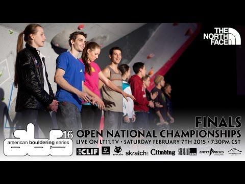 2015 American Bouldering Series National Championship - Iránec předrtil Woodse