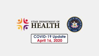 Press Conference - Utah COVID-19 and Earthquake Briefing - April 16, 2020