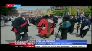 Daring Abroad: Peter Njiiri an Online Journalist in Britain 25th June 2016