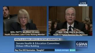 Rep. Tom Price Says Everyone Will Be Insured, Won