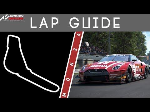 Monza Lap Guide - Assetto Corsa Competizione - Unleashed
