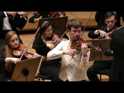 I hope you enjoy watching my performance of the Brahms Violin Concerto in the Symphony Centre with Roosevelt Symphony Orchestra