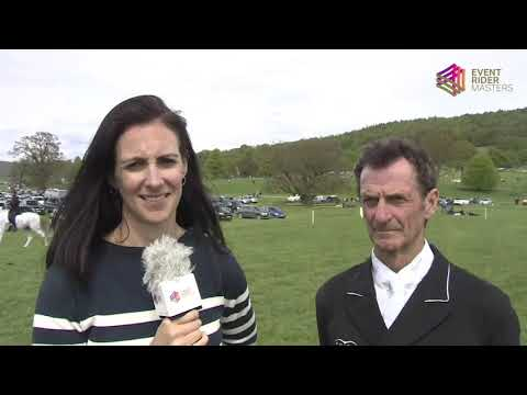 Sir Mark Todd at Chatsworth House - Event Rider Masters 2018