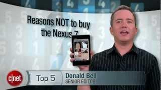 CNET Top 5 - Reasons not to buy a Nexus