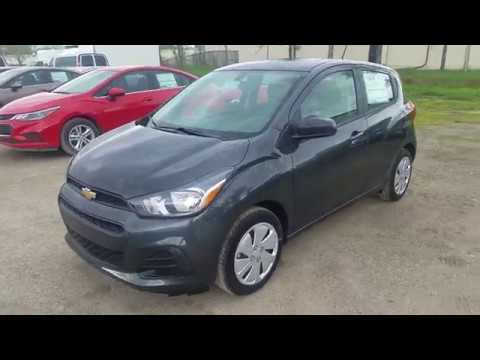 2018 Chevrolet SPARK LS – Nightfall Gray – QUICK PREVIEW