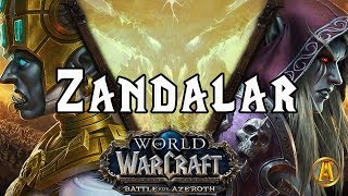 "World of Warcraft: Zandalar ""The Movie"" - ALL CUTSCENES [8.0.1 Battle for Azeroth]"