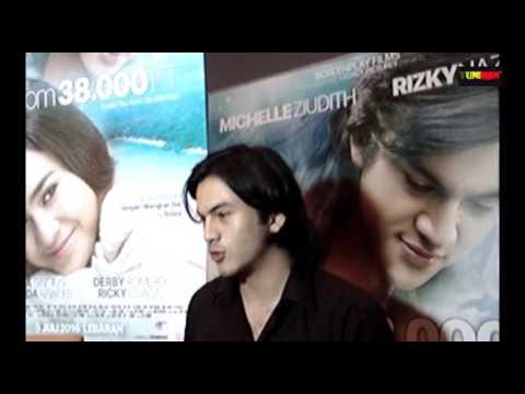 EXCLUSIVE INTERVIEW WITH RIZKY NAZAR SOAL PERANNYA DI FILM ILY F 38000 FT DAN RENCANA RAMADHANNYA