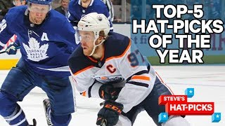 Top 5 Hat-Picks Of The 2019-20 NHL Season | Steve's Hat-Picks