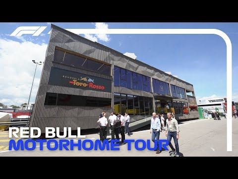 Inside the Red Bull & Toro Rosso Energy Station | 2019 Spanish Grand Prix