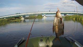 Рыбалка на р суна в июле