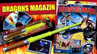 Dragons Magazin Nr. 30 mit Überraschungs Extra + Stickers !!! Unpacking & Review