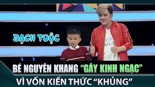 🍎 Bé Minh Khang khiến ai cũng nể phục vì vốn kiến thức quá khủng - Hợp sức #63