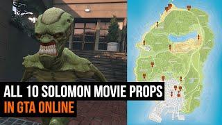 GTA Online Solomon Movie Props | ALL 10 LOCATIONS
