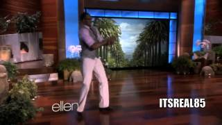 "dwight howard come out on ellen to ""bands will make her dance"" by juicy j!!!"