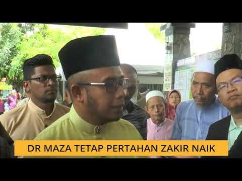 Dr Maza tetap pertahan Zakir Naik