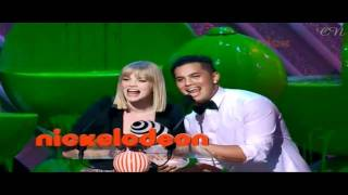 Кариба Хейн, Cariba Heine's Appearance at the Australian Kid's Choice Awards 2010