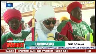 State Elections: Emir Of Kano Votes, Lauds Peaceful Conduct Of Polls In Kano