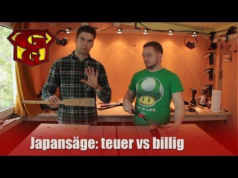 Japansäge: teuer vs billig - Garagengurus erleuchten #3