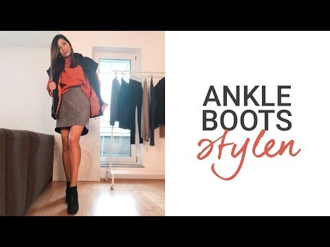 Ankle Boots stylen: 4 Dos & Don'ts | Sponsored Video | natashagibson