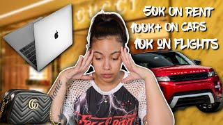 WORST FINANCIAL DECISIONS I'VE MADE ! (SPENT OVER 200K IN 3 YEARS) 🤮 | Crissy Danielle