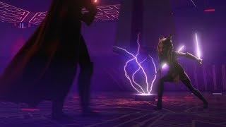 Darth Vader Vs Ahsoka - Full Duel  Twilight Of The Apprentice + A World Between Worlds