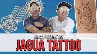Singaporeans Try: Jagua Tattoo