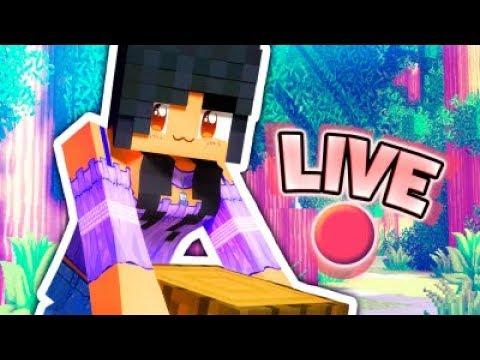 Aphmau's World   Minecraft LIVE!