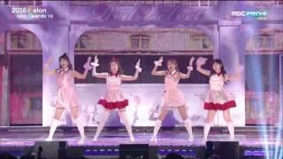 Gambar cover 161119 MelOn Music Awards 2016 Red Velvet - Russian Roulette