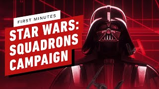 First 19 Minutes of Star Wars: Squadrons Campaign Gameplay