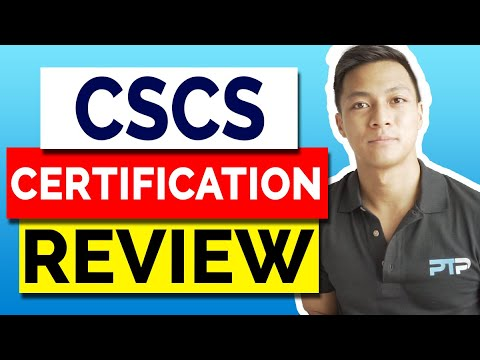 NSCA CSCS Certification Review [2021] - Certification Cost vs ...