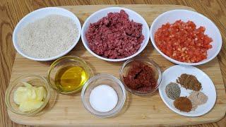 طريقة تحضير حشوة لجميع انواع المحاشي Mahshi Stuffing Recipe