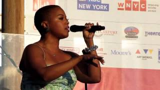 Chrisette Michele, Be OK, Rockefeller Park, NYC 6-29-11