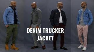 How To Wear A Denim Trucker Jacket 6 Different Ways