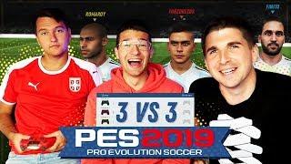 PES 2019: РЕЖИМ 3VS3 - ФИФЕРЫ УХОДЯТ В PES