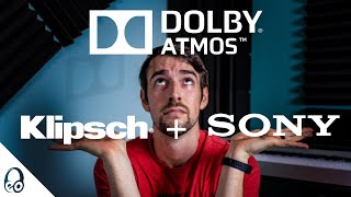 $800 COMPLETE DOLBY ATMOS SETUP? | KlipschTheater Pack | R-41M | Sony STR-DH790