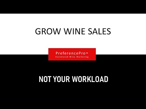 PreferencePro™ - Automated Wine Marketing