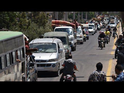 العرب اليوم - شاهد: روسيا تعلن عن إقامة مركز في سورية