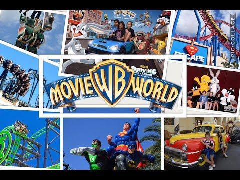 Movie World – THE RIDES 2018 GOLD COAST AUSTRALIA