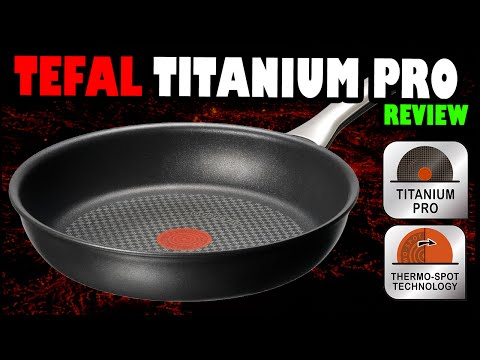 SALUD | Freír sin aceite | Tefal Titanium PRO
