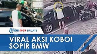 Viral Video Detik-detik Aksi Koboi Pengemudi BMW Acungkan Pistol di Tengah Kemacetan