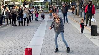 Marshmello ft. Bastille - Happier (Karolina Protsenko) - Violin Street Performance