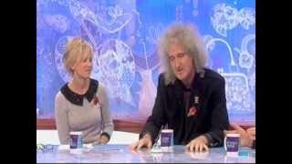 Brian May Loose Women 8 November 2012