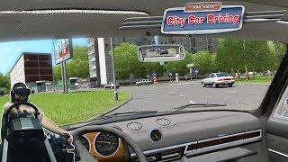 Легендарный Бумер 740 E38 и жогово на Шохе в VR - City Car Driving - Oculus Rift - Fanatec CLS Elite
