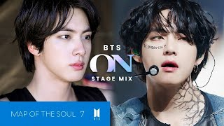 BTS 'ON' Stage Mix   MAP OF THE SOUL : 7
